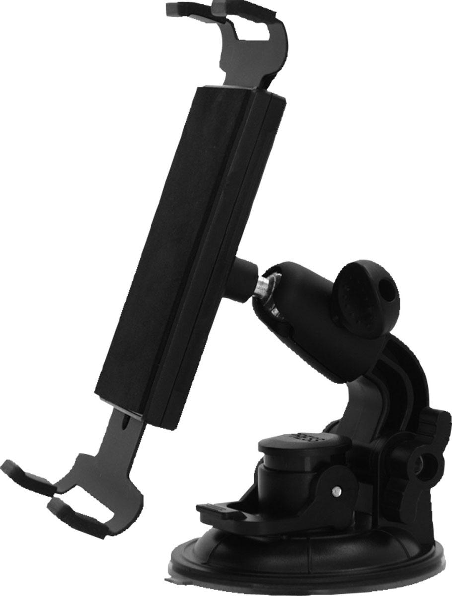 Держатель для планшета автомобильный Zipower. PM 6612PM 6612Универсальный держатель Zipower, выполненный из высококачественного пластика, подходит как для стандартных планшетов, так и для фаблетов, размер которых несколько меньше. Раздвижная конструкция позволяет регулировать необходимую высоту захвата. Предназначен для установки на лобовое стекло автомобиля.Особенности:Выполнен из высококачественного материала PC + ABS.Совместим с iPad и другими планшетами PC/GPS.Держатель легко устанавливается и подходит для любого автомобиля.Регулируемый поворот на 360°.Противоскользящий коврик.Высота захвата: 150-210 мм.