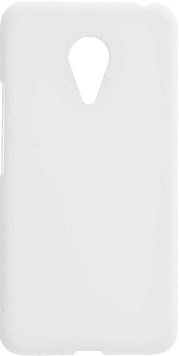 Skinbox 4People чехол для Meizu Pro 5, White2000000084558Чехол-накладка Skinbox 4People для Meizu Pro 5 бережно и надежно защитит ваш смартфон от пыли, грязи, царапин и других повреждений. Выполнен из высококачественного поликарбоната, плотно прилегает и не скользит в руках. Чехол-накладка оставляет свободным доступ ко всем разъемам и кнопкам устройства.