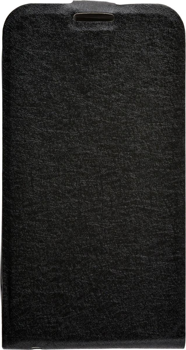 Skinbox Flip Slim чехол для Alcatel 4024D Pixi, Black - Чехлы