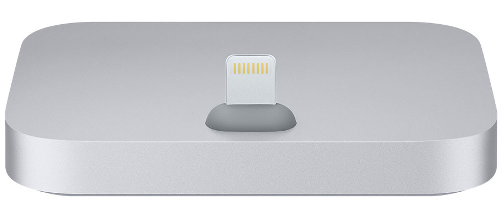 Apple iPhone Lightning Dock, Space Gray док-станция док станции usb c universal dock к zenbook 3 купить