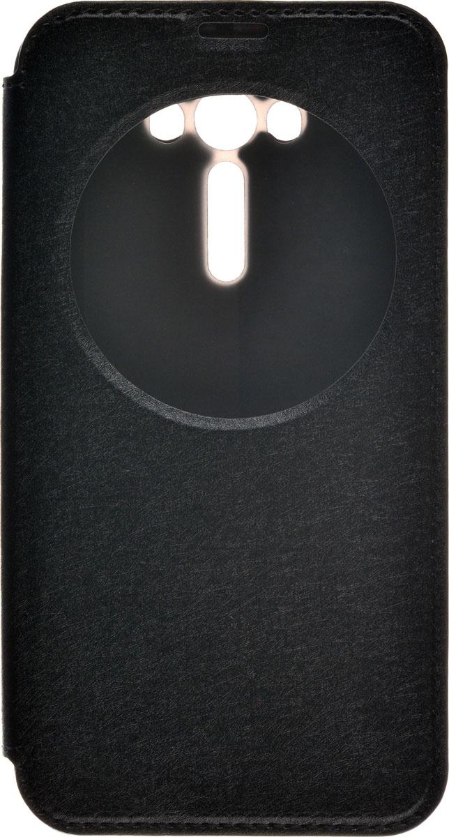 Skinbox MS AW чехол для Asus Zenfone Laser 2 ZE550KL, Black2000000087016Чехол Skinbox MS AW выполнен из высококачественного поликарбоната и экокожи. Он обеспечивает надежную защиту корпуса и экрана смартфона и надолго сохраняет его привлекательный внешний вид. Чехол также обеспечивает свободный доступ ко всем разъемам и клавишам устройства.