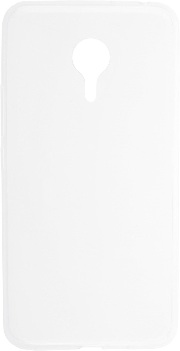 Skinbox Silicone Slim чехол для Meizu Pro 5, Transparent
