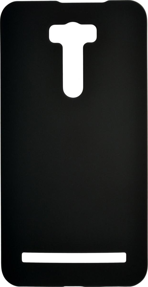 Skinbox 4People чехол для Asus Zenfone Laser 2 (ZE601KL), Black2000000087955Чехол-накладка Skinbox 4People для Asus Zenfone Laser 2 (ZE601KL) бережно и надежно защитит ваш смартфон от пыли, грязи, царапин и других повреждений. Обеспечивает свободный доступ ко всем разъемам и элементам управления.