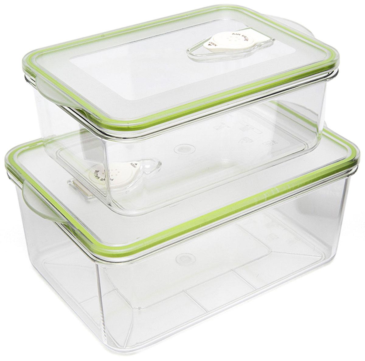 Kitfort КТ-1500-01 контейнер для вакуумного упаковщикаКТ-1500-01Kitfort КТ-1500-01 - набор контейнеров для вакуумного упаковщика. Они подходят не только для вакуумирования и хранения, но и для замораживания и разогрева в СВЧ-печи.Температурный диапазон эксплуатации: -20 – +120 °С