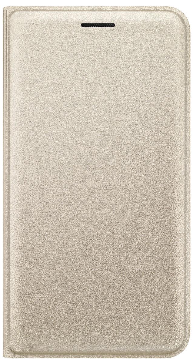 Samsung EF-FJ120 Flip Wallet чехол для Galaxy J1 (2016), GoldEF-WJ120PFEGRUЧехол-книжка Samsung Flip Wallet для Galaxy J1 защищает корпус устройства от внешних повреждений. Высококачественные материалы обеспечат долгий срок службы как чехла, так и смартфона. Эргономичный дизайн сделает использование гаджета еще более удобным, а тонкие формы не увеличивают размеры устройства. Чехол имеет свободный доступ ко всем разъемам и кнопкам устройства.
