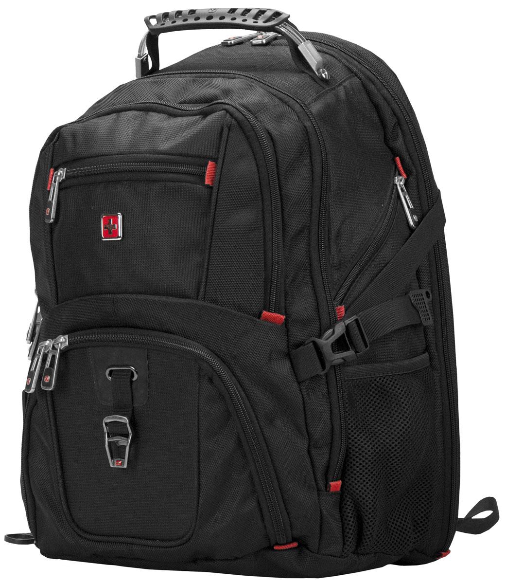 купить  Continent BP-301 BK, Black рюкзак для ноутбука 16