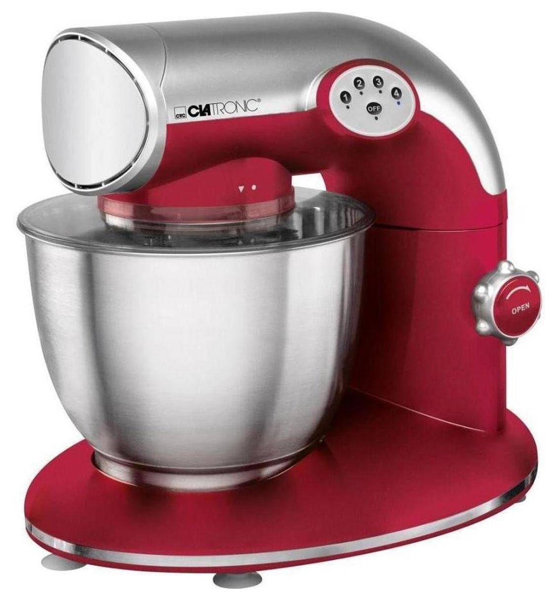 Clatronic KM 3632, Red кухонный комбайн кухонный комбайн clatronic km 3414 silver