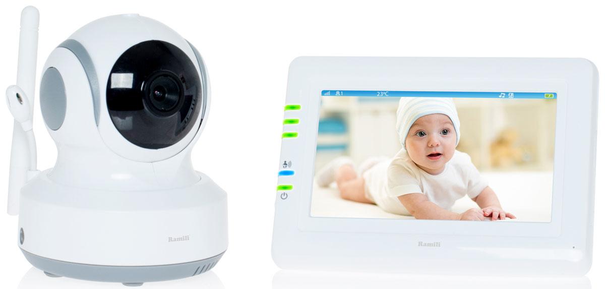 Ramili Baby RV900, White видеоняня -  Радио и видеоняни
