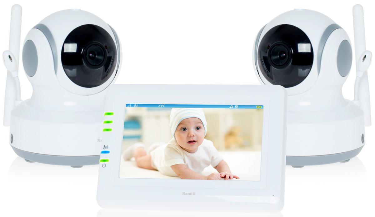 Ramili Baby RV900X2, White видеоняня -  Радио и видеоняни
