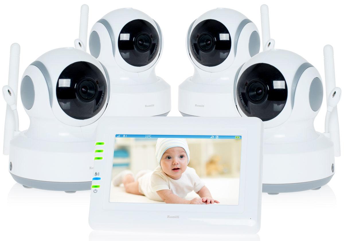 Ramili Baby RV900X4, White видеоняня -  Радио и видеоняни