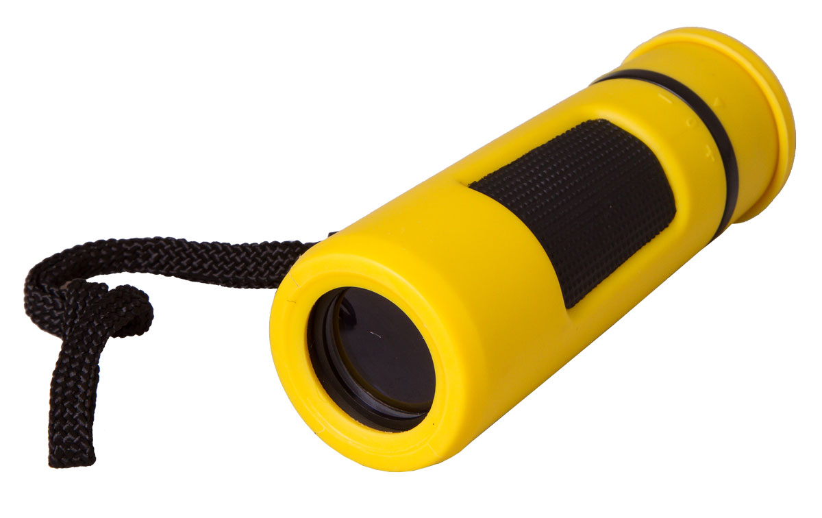Bresser Topas 10x25, Yellow монокуляр8911028LXD000Компактный монокуляр Bresser Topas 10x25 для туристов, путешественников и натуралистов. Это гармоничное сочетание удобства использования, надежности конструкции и высоких оптических характеристик. Лучше всего этот миниатюрный монокуляр проявит себя при дневных наблюдениях: изучении птиц, просмотре спортивных мероприятий, исследовании дикой природы. Благодаря металлическому корпусу он переживет любые дорожные потрясения.Монокуляр Bresser Topas 10x25 обеспечит получение качественной и высококонтрастной картинки, правильно передаст цвета и позволит рассмотреть удаленные предметы в мельчайших деталях. Все оптические элементы изготовлены из стекла, а внешние линзы имеют полное просветление. Чтобы сделать картинку максимально четкой, вы можете откорректировать диоптрии окуляра и точно настроить фокус. Боковые части монокуляра имеют резиновые покрытие для удобства и надежности захвата.