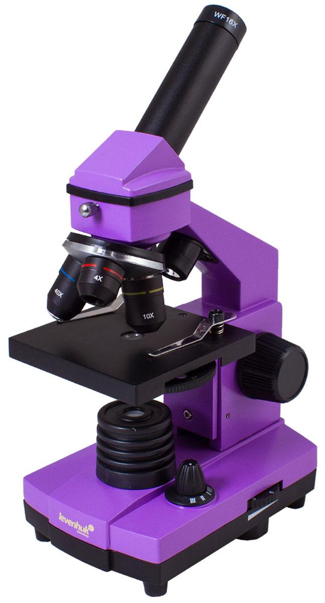 Levenhuk Rainbow 2L Plus, Amethyst микроскоп - Микроскопы