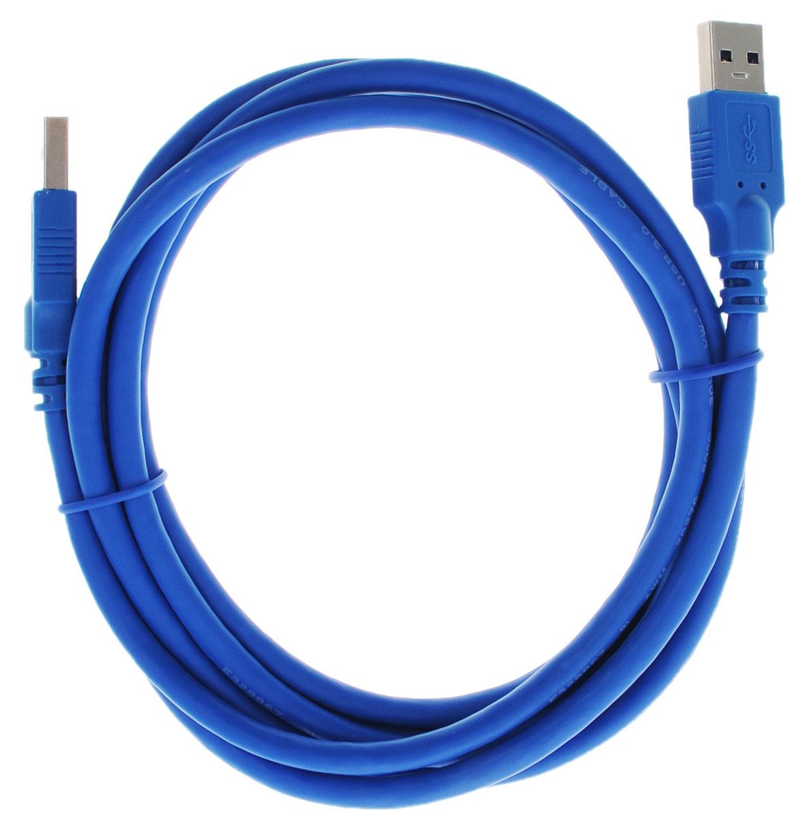 Greenconnect Premium GC-U3A01, Blue кабель USB 2 мGC-U3A01-2mКабель Greenconnect Premium GC-U3A01 используется для соединения ПК или ноутбука с периферийными устройствами: HD-DVD, принтер, внешний жесткий диск, Blu-ray и другими. Кабель имеет двойное экранирование (сочетание фольгированной и общей оплетки), что позволяет защитить сигнал при передаче от влияния внешних полей, способных создать помехи. Скорость передачи данных: до 5 Гбит Тип оболочки: PVC (ПВХ)Совместимость: USB 3.0/2.0/1.1
