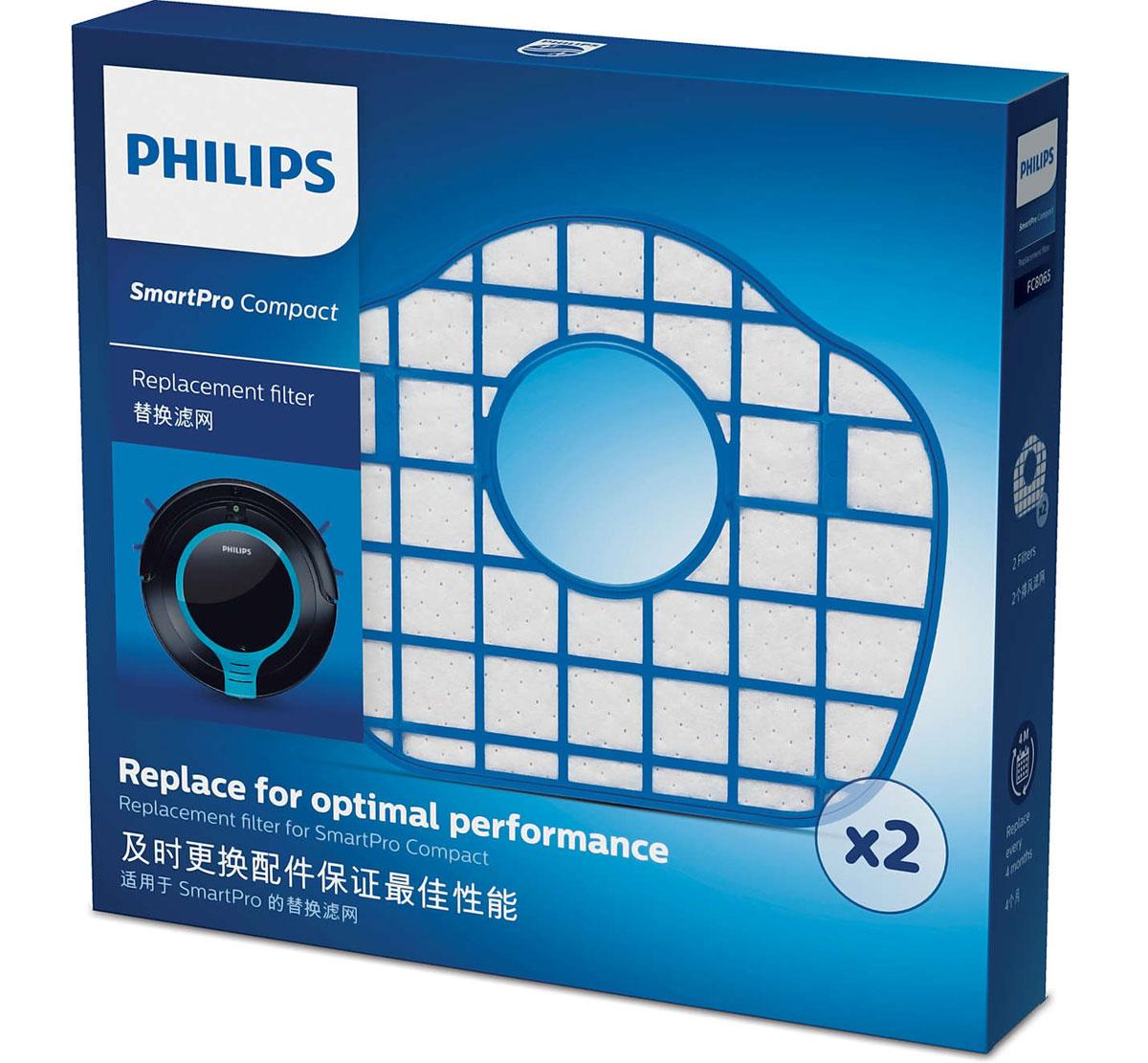Philips FC8065/01 набор аксессуаров для робот-пылесосов SmartPro Compact