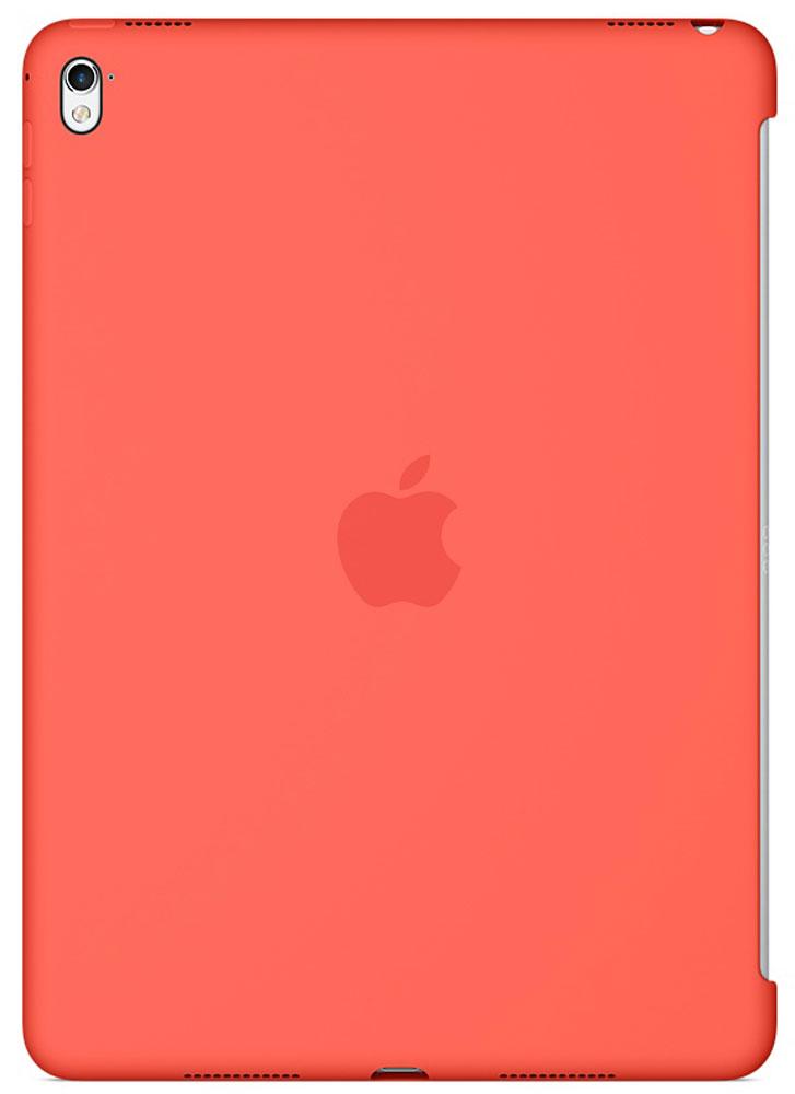 Apple Silicone Case чехол для iPad Pro 9.7, ApricotMM262ZM/AСиликоновый чехол от Apple закрывает заднюю поверхность вашего iPad Pro и плотно прилегает к кнопкам, не делая его толще. Мягкая внутренняя поверхность из микроволокна защищает устройство, а гладкий силикон очень приятен на ощупь. Чехол идеально совместим с новой клавиатурой Smart Keyboard и обложкой Smart Cover. Ваш iPad Pro защищён со всех сторон.