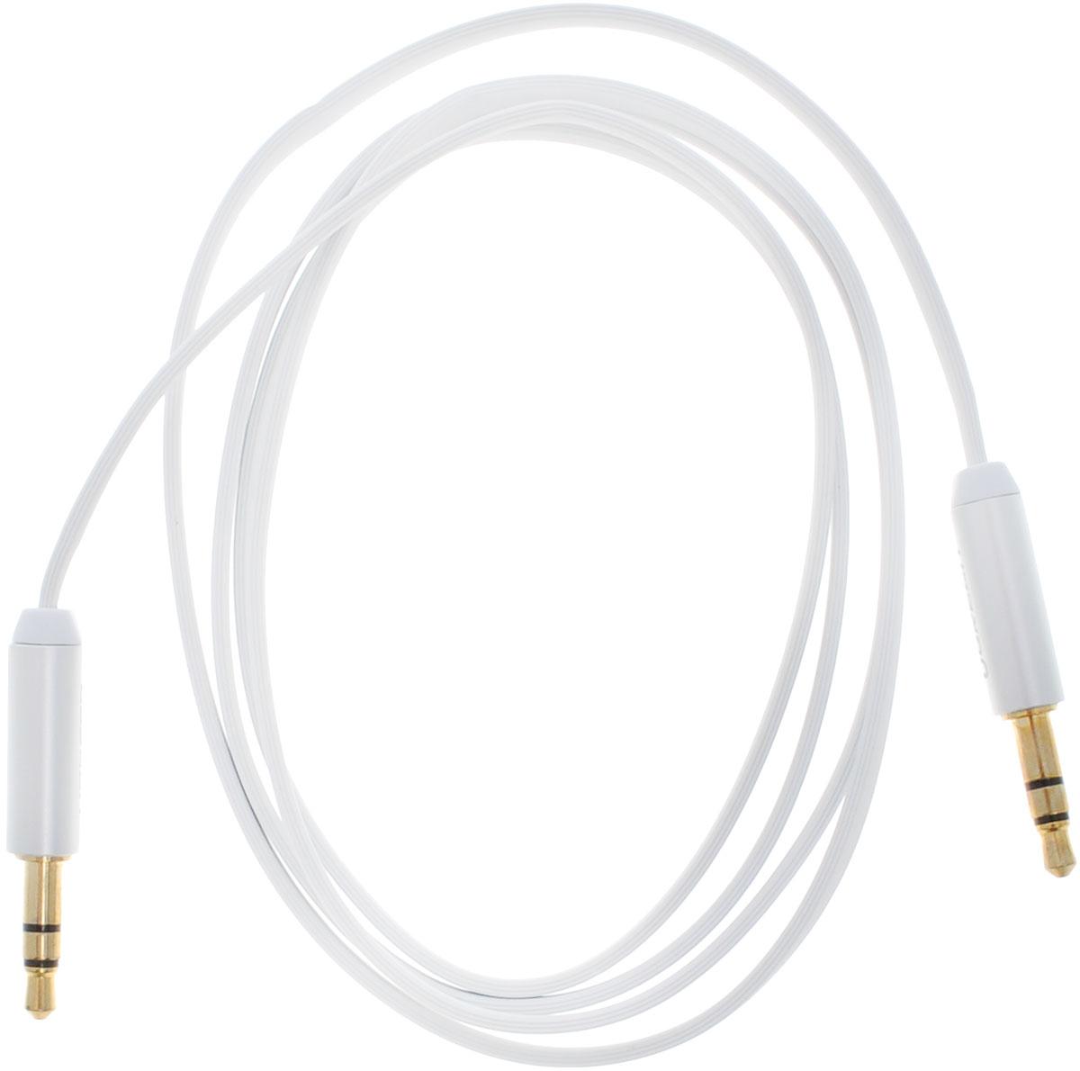Ugreen UG-10763, White Silver кабель AUX 1 мUG-10763Кабель Ugreen UG-10763 может быть использован для подключения, например, гарнитуры с MP3-плеером, компьютера, DVD, TV, радио, CD плеер в которых есть данный аудиоразъем. Главное отличие этого аудио кабеля - мягкая оболочка и стильные металлические соединители. Прекрасное качество исполнения и экранирование позволит избежать влияния помех при передаче сигнала.Толщина кабеля: 1,5 х 3,5 мм Тип оболочки: ПВХ