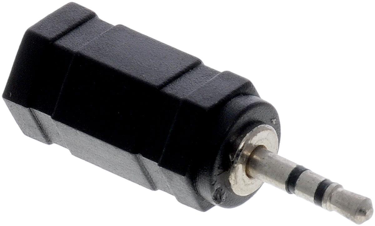Greenconnect GC-AVA06, Black адаптер-переходник AUXGC-AVA06Адаптер-переходник Greenconnect GC-AVA06 используется для подключения наушников со штекером 3,5 мм к звуковоспроизводящему оборудованию, оснащенному входом 2,5 мм. Маленький и компактный дизайн, высокая передача данных.