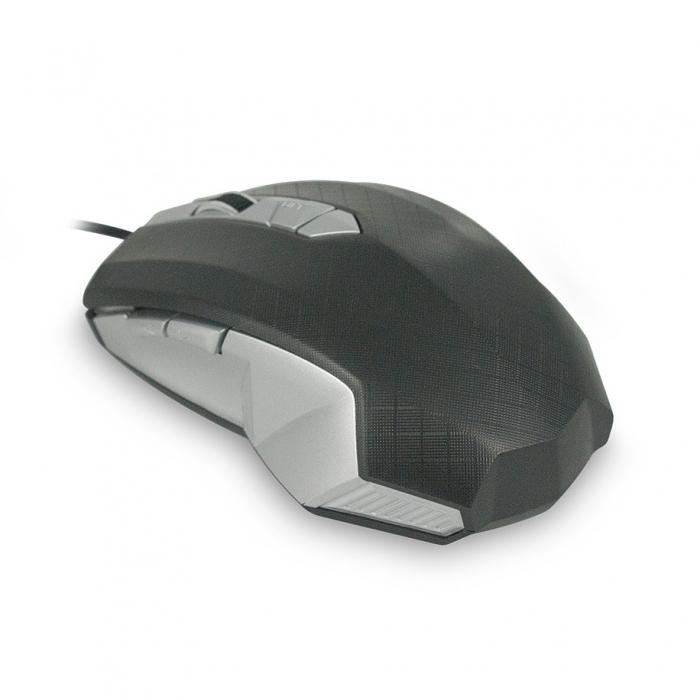 CBR CM 345, Black Silver мышь