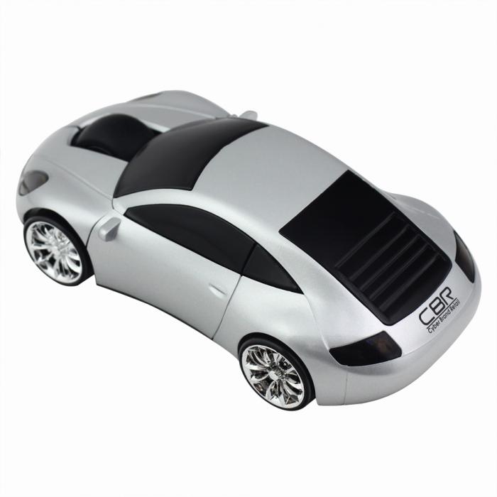 CBR MF 500 Lazaro, Silver мышьMF 500 Lazaro SilverМышь CBR MF 500 Lazaroвыполнена в форме спортивного автомобиля с эффектной подсветкой передних и задних фар. Управлять такой красивой мышью особенно приятно и главное - удобно. Как и всякая современная компьютерная мышь, оптическая мышь CBR MF 500 оснащена колесиком прокрутки и не требует драйверов при подключении к компьютеру. Модель имитирует движение автомобиля за счет подвижных колес.Компьютерная мышь CBR MF 500 - это отличный подарок и эффектный аксессуар, который будет всегда на виду.виду.