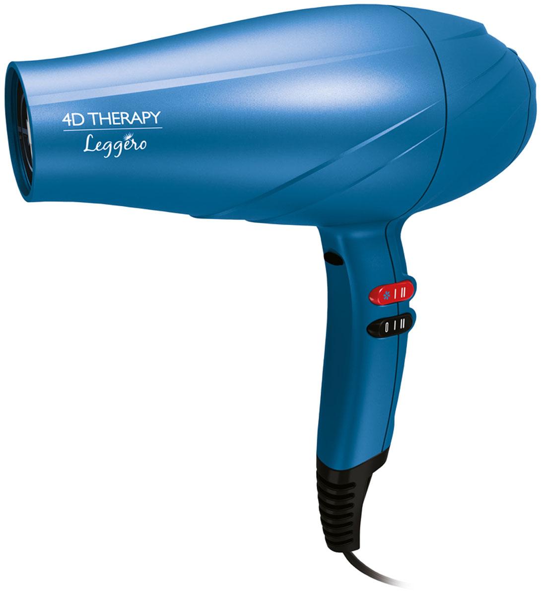 Ga.Ma Leggero Ion 4D Therapy фенA21.LEGGEROION.4DТЕХНОЛОГИЯАктивный кислород освобождает волосяные луковицы от загрязнений и улучшает их обеспечение кислородом, таким образом обеспечивая антивозрастной эффект. Ваши волосы будут более сильными, здоровыми и блестящими.ПРЕИМУЩЕСТВАВаши волосы будут расти более сильными и живымиВаши волосы будут более блестящими от корней до кончиковВаши волосы будут более сияющими, восстановленными и эластичными, чем когда-либо преждеВаши волосы полностью обновятся4 ПРЕИМУЩЕСТВАДЛЯ ВАШИХ ВОЛОС ( 4 Dimension - 4D)БЛЕСКСНЯТИЕ СТАТИЧЕСКОГО ЭЛЕКТРИЧЕСТВАРЕКОНСТРУКЦИЯАНТИВОЗРАСТНОЙ ЭФФЕКТИнновационная активная технология Ozone 3 серии 4D Therapy сочетает в себе технологию ION PLUS, нейтрализующую статическое электричество, с действием технологии Ozone 3. Технология Ozone 3 помогает устранить жир и загрязнения, которые могут закупоривать поры, и значительно улучшить обеспечение волосяных луковиц кислородом, стимулируя их реконструкцию. Кроме этого, турмалиновое покрытие сделает Ваши волосы более сияющими и шелковистыми. Их комбинированное действие придает волосам силу от корней до кончиков, оздоравливает их благодаря антивозрастному эффекту такого ухода.Активная технология Ozone 3 Ion: обновляющий эффект для волосТехнология Ion Plus, постоянный поток ионовМощность 2400 ВтПрофессиональный мощный долговечный мотор AC.6 температурных режимов, 2 скорости, холодный обдувСъемный воздушный фильтр для легкой чисткиВ комплекте насадка-концентратор