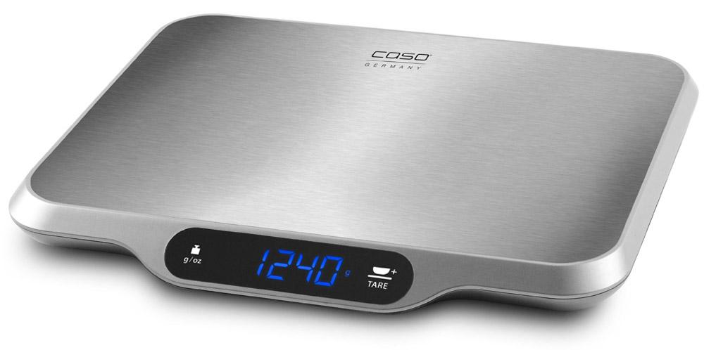 CASO L 15, Silver кухонные весыL 15Кухонные электронные весы CASO L 15 - незаменимые помощники современной хозяйки. Они помогут точно взвесить любые продукты и ингредиенты. Кроме того, позволят людям, соблюдающим диету, контролировать количество съедаемой пищи и размеры порций. Предназначены для взвешивания продуктов с точностью измерения до 1 грамма.Размер платформы: 30 см х 22 смБольшой дисплейСенсорное управление