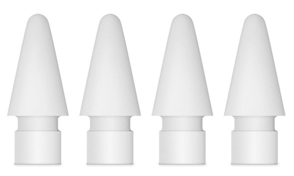 Apple наконечник для Pencil, White 4 штMLUN2ZM/AДополнительные наконечники для Apple Pencil от компании Apple. Держите их всегда под рукой.