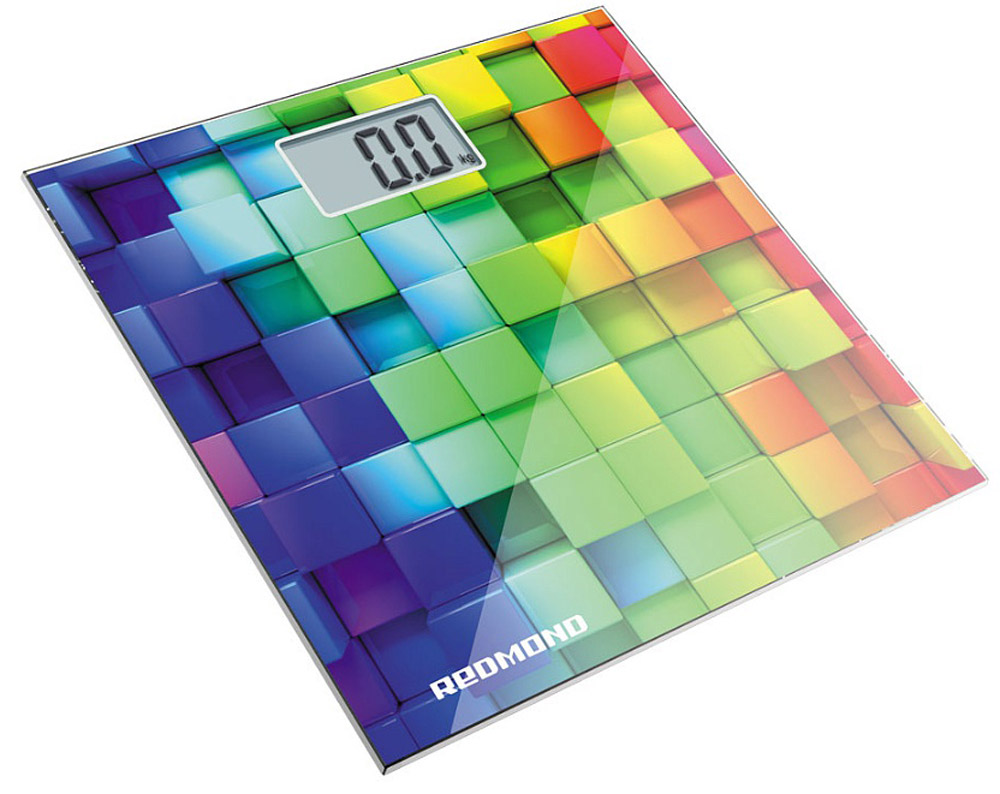 Redmond RS-708 Кубики весы напольные изучаем единицы измерения
