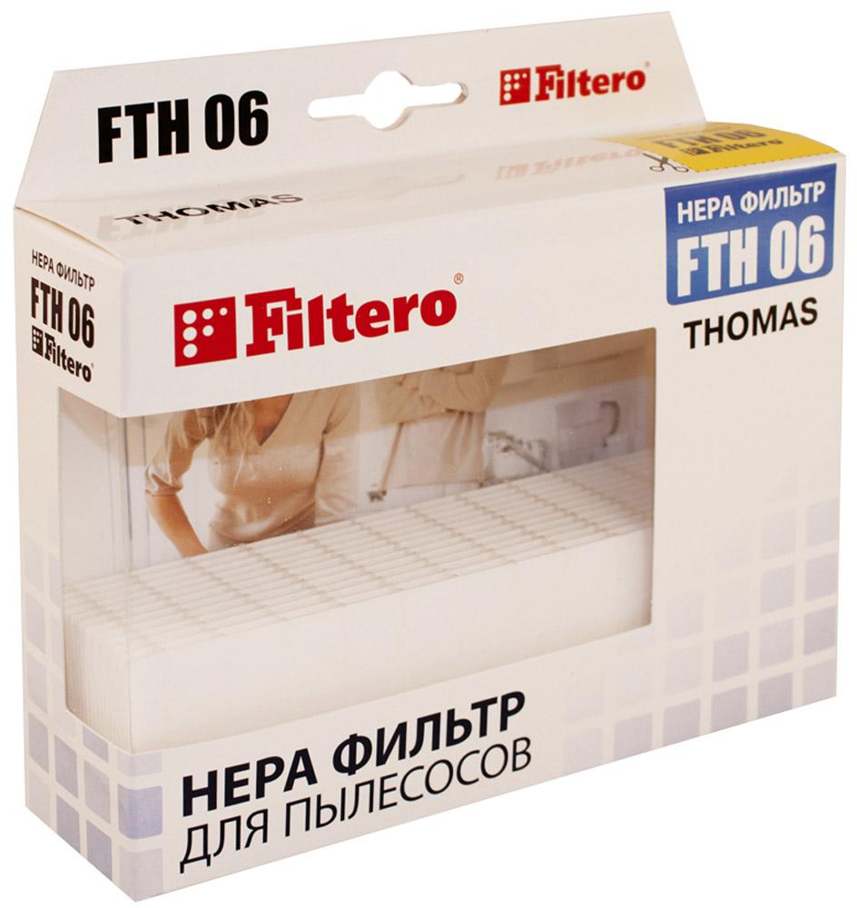 Filtero FTH 06 фильтр для пылесосов ThomasFTH 06Немоющийся фильтр Filtero FTH 06 уровня фильтрации НЕРА Н 10 препятствует выходу мельчайших частиц пыли и аллергенов из пылесоса в помещение. Он подлежит замене согласно рекомендации производителя пылесосов - не реже одного раза за 6 месяцев.Подходят для следующих пылесосов THOMAS: TWIN aquafilterTWIN aquatermTwin HelperTwin PantherTWIN TigerTWIN T1 aquafilterTwin T1 Aquafilter TurboTWIN T2 aquafilterTWIN T2 PARQUETTWIN TT aquafilterTWIN TT PARQBLACK OCEANGENIUS aquafilterGENIUS S1 aquafilterGENIUS S2 aquafilterHYGIENE T2HYGIENE Plus T2PET & FRIENDS T1SMARTYSYNTHOVICTOR