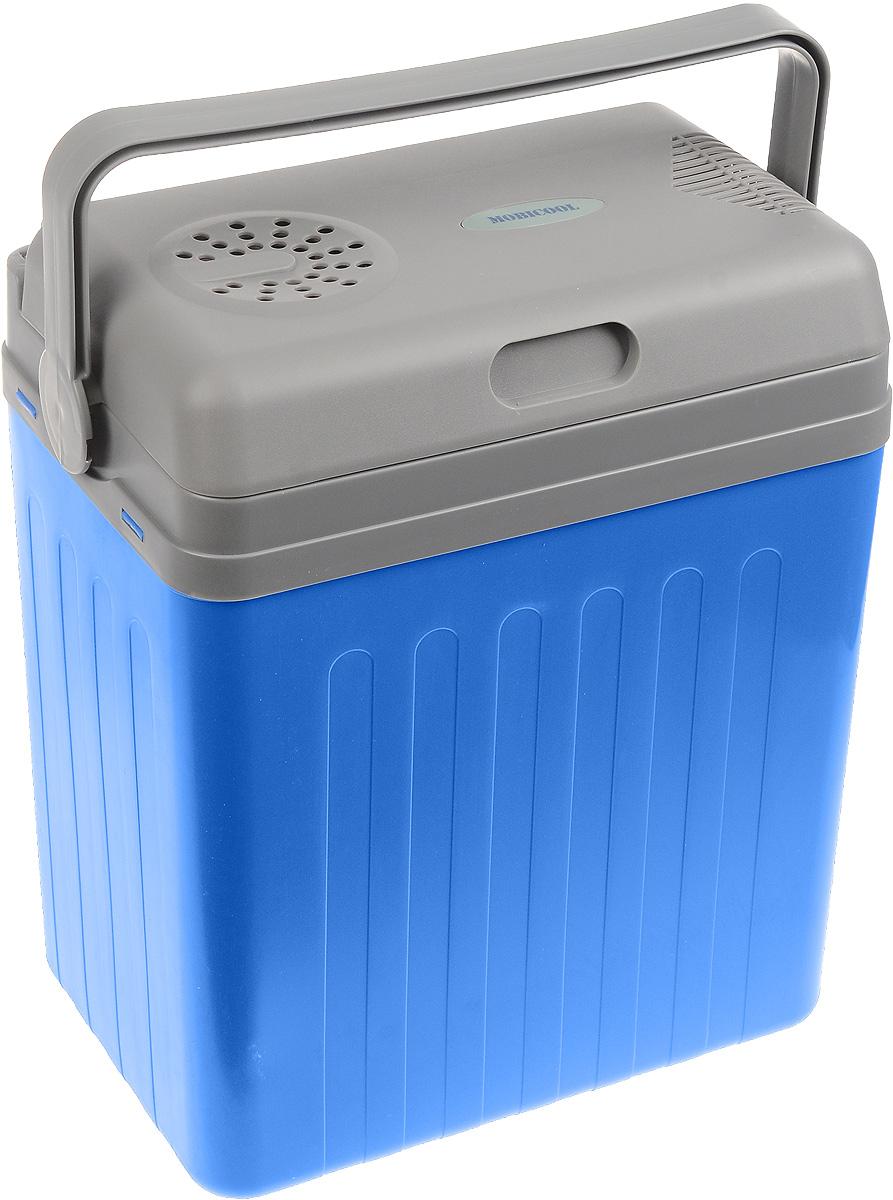 MOBICOOL U22 DC автохолодильникU22 DCАвтохолодильник MOBICOOL U22 DC предназначен для транспортировки и хранения напитков и продуктов питания при определенном температурном режиме. Особенно удобно его использовать в длительных поездках в жаркое время года.Контейнер - термоэлектрический. Он работает от прикуривателя 12 В. Минимальная температура охлаждения составляет до 15 градусов ниже температуры окружающей среды. Корпус холодильника выполнен из ударопрочного пластика. В качестве теплоизоляционного материала используется пенополиуретан.Мощность: 48 ВтСъемная крышкаВстроенный в крышку кабельРучка фиксирует крышку в закрытом положенииПолная термоизоляция из пенополиуретана