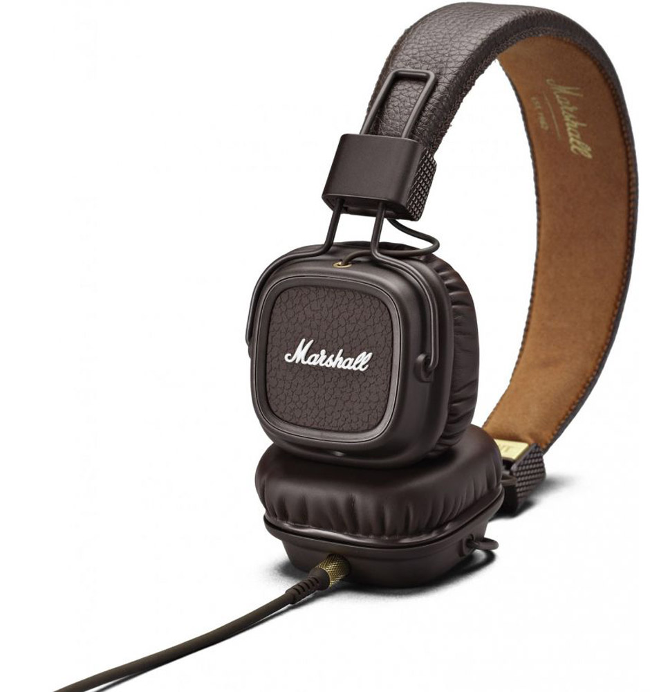 Marshall Major II, Brown наушники