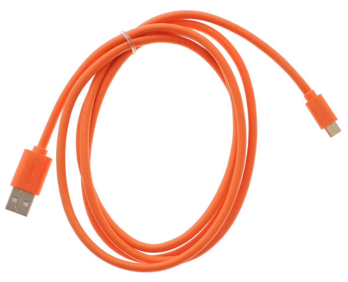 Ugreen Premium UG-10865, Orange кабель-переходник USB 1.5 мUG-10865Кабель Ugreen Premium UG-10865 позволяет подключать мобильные устройства, которые имеют разъем microUSB 5pin к USB AF разъему компьютера. Подходит для повседневных задач, таких как синхронизация данных и передача файлов.Пропускная способность интерфейса: до 480 Мбит/сТип оболочки: ПВХ