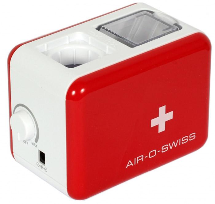 Boneco Air-O-Swiss U7146, Red White увлажнитель воздухаU7146 RedМобильный увлажнитель воздуха Air-O-Swiss U7146 можно брать с собой куда угодно: на отдых, в командировку, в офис – в любой поездке он будет сопровождать Вас, поддерживая оптимальный уровень влажности воздуха, где бы Вы ни находились. Маленький и яркий увлажнитель Air-O-Swiss U7146 в кратчайшие сроки создаст благоприятный микроклимат в гостиничном номере или апартаментах, насыщая воздух живительной влагой. Такой легкий и компактный, он не займет много места и не потребует особого ухода.Прибор работает по принципу ультразвукового увлажнения воздуха. Вода, попадая в камеру парообразования, под воздействием ультразвука расщепляется на мельчайшие брызги. Микроскопические капли образуют своеобразное облако пара, вентилятор малой мощности прогоняет наружный воздух, подавая пар в помещение, который затем равномерно по нему распространяется.Уникальность модели AOS U7146 - в том, что в качестве емкости для воды выступает стандартная пластиковая бутылка объемом не более 500 мл, что значительно облегчает вес и размеры прибора, а в целом - его конструкцию, что позволяет перевозить его на любые расстояния. Кроме того, такое новшество облегчает и подбор воды для увлажнения – Вы можете использовать любую очищенную воду. Для устойчивости прибора предусмотрены специальные складные ножки, которые обеспечивают хорошую устойчивость и безопасность при эксплуатации. AOS U7146 — портативный увлажнитель воздуха — выпускается в 4-х оригинальных цветах: ярко зеленый, фиолетовый, черный и белый. Уход за прибором очень прост: в нем нет фильтров, требующих регулярной замены, очистки от загрязнений требуют только внутренние части прибора и мембрана