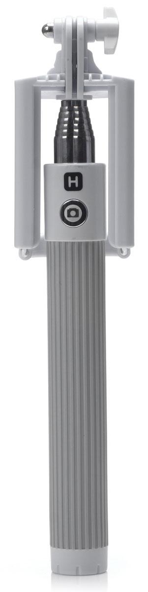 Harper RSB-105, Grey моноподH00000531Harper RSB-105 - телескопический моноподдля проведения фото и видеосъемки с максимальной нагрузкой 500 грамм. Поддержка беспроводного соединения Bluetooth позволяет осуществлять съемку без использования кабеля. Данная модель имеет встроенный аккумулятор на 60 мАч, что обеспечивает до 100 часов автономной работы.