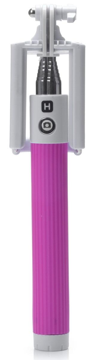 Harper RSB-105, Pink моноподH00000529Harper RSB-105 - телескопический моноподдля проведения фото и видеосъемки с максимальной нагрузкой 500 грамм. Поддержка беспроводного соединения Bluetooth позволяет осуществлять съемку без использования кабеля. Данная модель имеет встроенный аккумулятор на 60 мАч, что обеспечивает до 100 часов автономной работы.