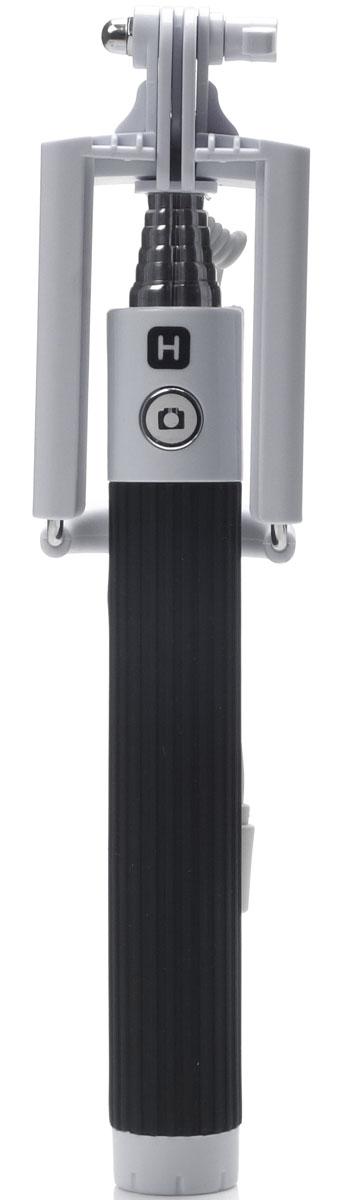 Harper SO-201, Black моноподH00000547Harper SO-201 - ручной телескопический монопод для проведения фото и видеосъемки с кабелем 3,5 мм. Имеет максимальную длину 90 cм и 7 секций. Длина в сложенном состоянии составляет 20 см. Прочный стальной корпус гарантирует надежность монопода в повседневных условиях.