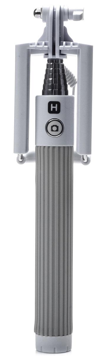 Harper SO-201, Grey моноподH00000546Harper SO-201 - ручной телескопический монопод для проведения фото и видеосъемки с кабелем 3,5 мм. Имеет максимальную длину 90 cм и 7 секций. Длина в сложенном состоянии составляет 20 см. Прочный стальной корпус гарантирует надежность монопода в повседневных условиях.