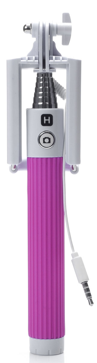 Harper SO-201, Pink моноподH00000544Harper SO-201 - ручной телескопический монопод для проведения фото и видеосъемки с кабелем 3,5 мм. Имеет максимальную длину 90 cм и 7 секций. Длина в сложенном состоянии составляет 20 см. Прочный стальной корпус гарантирует надежность монопода в повседневных условиях.