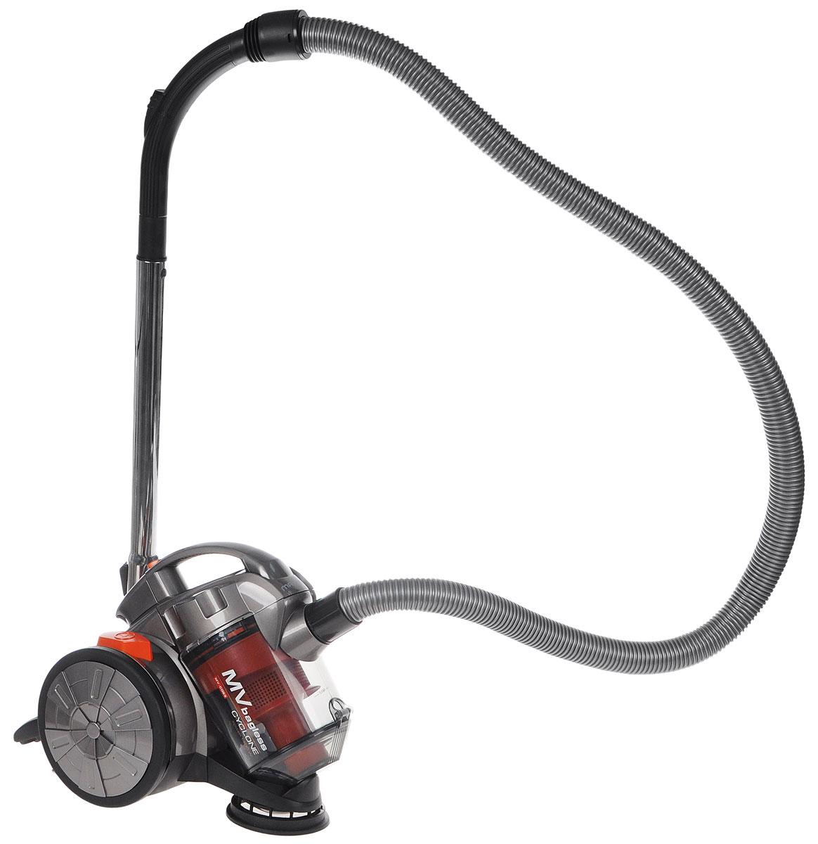 Maxima MV-C053 пылесосMV-C053Maxima MV-C053 - мощный и надежный пылесос циклонного типа, который избавит дом от грязи, пыли, аллергенов.Он обладает высокой маневренностью и двумя специальными насадками, благодаря чему вы можете убрать пыль даже в самых труднодоступных местах.