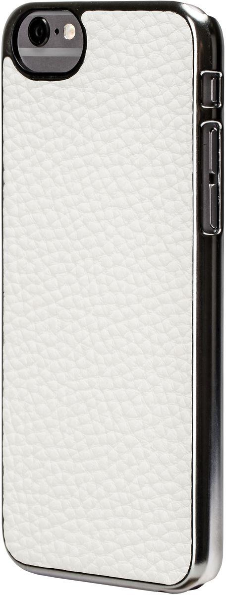 uBear Cartel Case чехол для iPhone 6/6s, WhiteCS06WH01-I6Элегантный аксессуар, способный вызывать эмоции при каждом прикосновении. Натуральная кожа из Новой Зеландии. Потрясающий дизайн и ярко выраженная индивидуальность. Безупречная защита Вашего устройства. Чехол обеспечивает свободный доступ ко всем функциональным кнопкам смартфона и камере. Премиум сегмент по разумной цене.