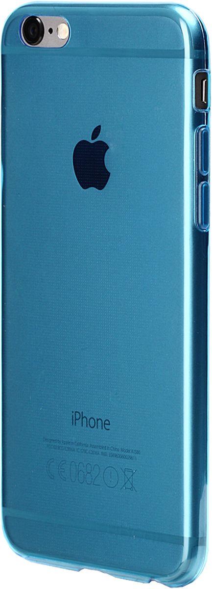 uBear Soft Tone Case чехол для iPhone 6/6s, Light Blue ubear soft tone case чехол для iphone 7 black onyx clear