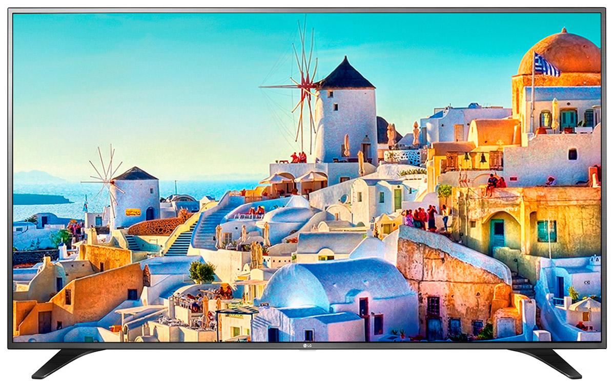 LG 43UH651V телевизор43UH651VТелевизор LG 43UH651V позволяет усиливать цвета за счет настройки яркости экрана для обеспечения максимальной детализации. HDR Pro: Функция HDR Pro позволяет увидеть фильмы с теми яркостью, богатейшей палитрой и точностью цветовых оттенков, с какими они были сняты.ColorPrime Pro:Яркие и сочные, натуральные оттенки теперь могут быть отображены благодаря расширенному цветовому спектру дисплея UHD телевизоров LG.Широкий угол обзора:IPS 4K экран UHD телевизора LG всегда покажет вам идентичные цвета вне зависимости от того из какой части комнаты вы будете его смотреть.Трёхмерная обработка цвета:В новых UHD телевизорах LG используется трёхмерный алгоритм обработки цвета, что позволяет минимизировать искажения и добиться оттенков, максимально приближенных к натуральным.Локальное затемнение:Алгоритм Локального затемнения заключается в управлении подсветкой каждого блока пикселей в отдельности. Его главная задача - увеличение контрастности и детализации изображения. В результате объекты имеют более чёткие границы, детали цветов более точные, а тёмный фон наиболее насыщен.Энергосбережение:Эта функция включает в себя контроль подсветки, который позволяет регулировать яркость экрана в целях экономии электроэнергии.Дизайн ULTRA Slim:Оцените инновационный сверхтонкий дизайн ULTRA Slim, который придает телевизору исключительно изысканный и элегантный вид. Дизайн ULTRA Slim не только позволит вам сэкономить место, но и гармонично дополнит собой современный эстетичный интерьер вашего дома.Металлический дизайн: Оцените обновлённый дизайн корпуса телевизора с металлическими элементами.ULTRA Surround:Специальный алгоритм преобразовывает звуковые волны, исходящие из двухканальных динамиков так, что вам будет казаться, что вы слушаете 7-канальный звук. Получите ещё больше удовольствия от просмотра 4К фильмов!webOS 3.0:Обновлённая операционная система LG SMART TV на базе webOS 3.0 создана для того, чтобы доступ к фильмам, сериалам, музыке и интернет-порталам ч