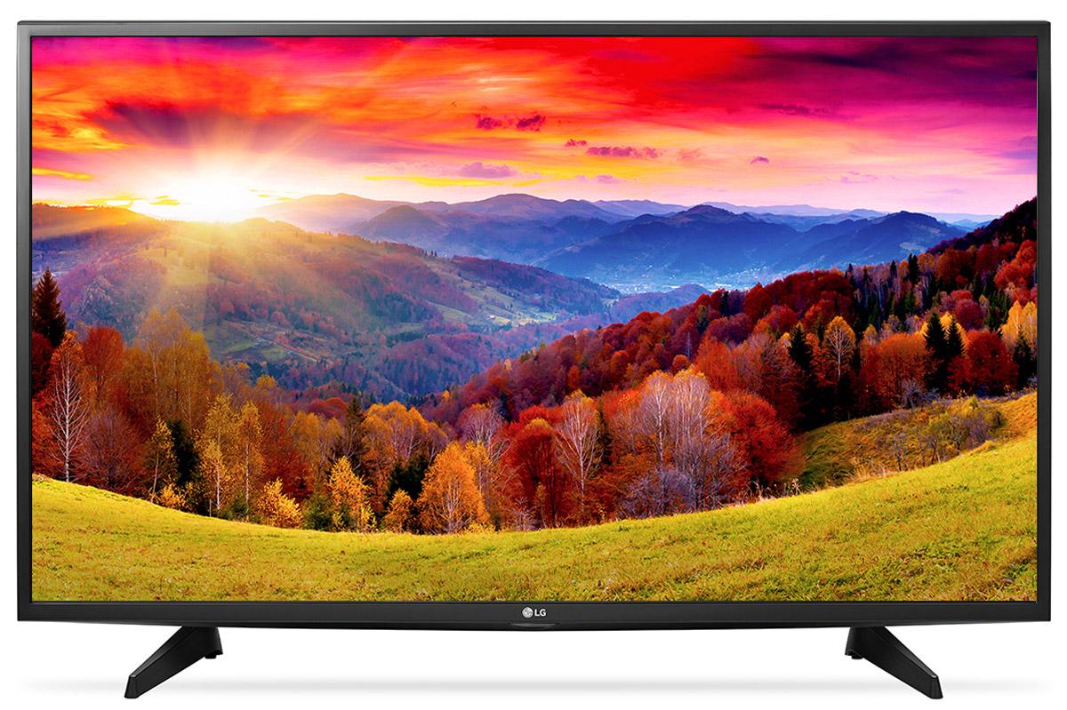 LG 49LH513V телевизор49LH513VНовый графический процессор телевизора LG 49LH513V отвечает за качество цветопередачи, уровень контрастности и чёткость изображения. Также вы сможете бесплатно наслаждаться встроенными играми с LG GAME TV.Система точной настройки Picture Wizard III позволяет вам быстро отрегулировать глубину чёрного, цветовую гамму, чёткость изображения и уровень яркости. Испытайте эффект объёмного звучания с алгоритмом кинотеатрального распределения звуковой волны! Автоматическая система подавления шумов и усиления звучания голоса направлена на отделение основных звуков от фона, что помогает чётко слышать речь актёров и телеведущих.