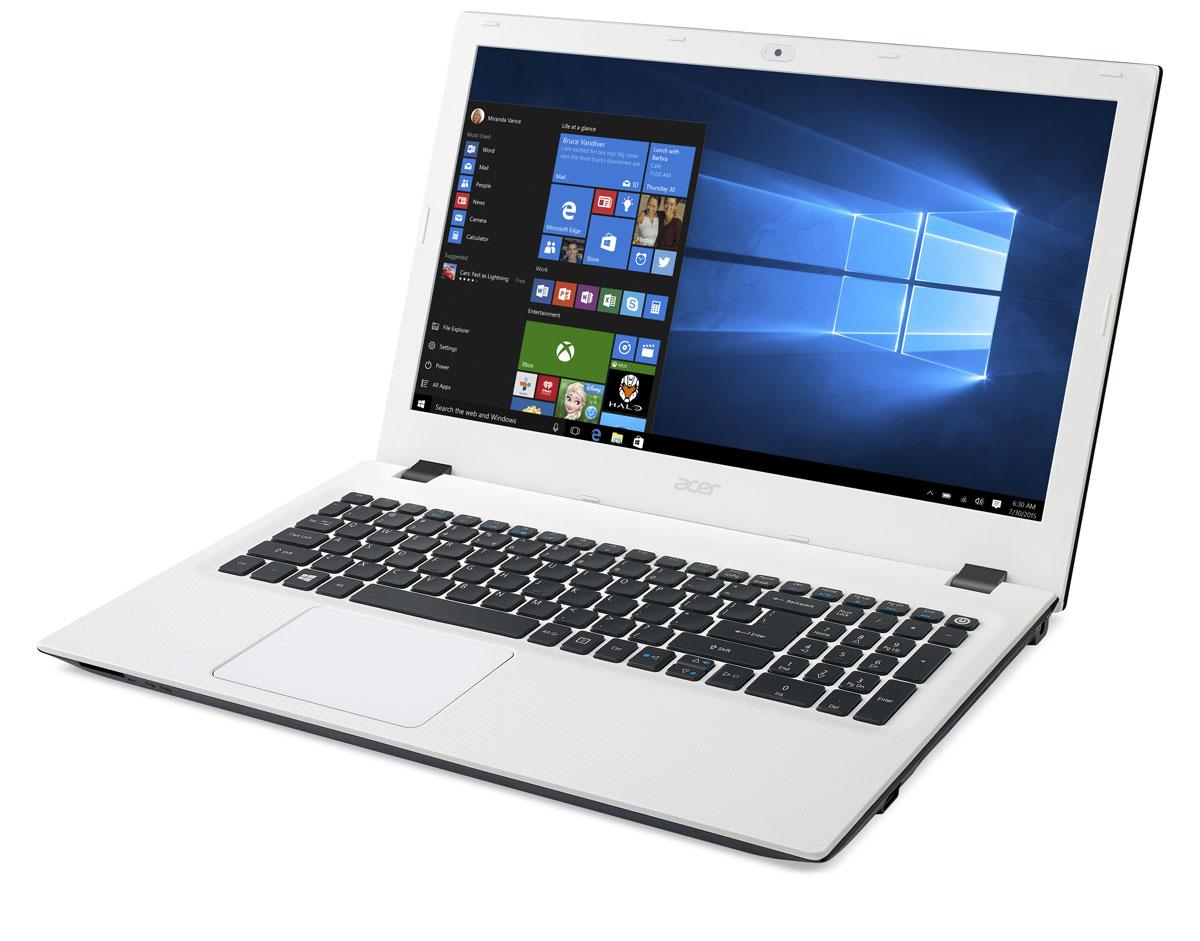 Acer Aspire E5-532-C5AA, White (NX.MYWER.013)NX.MYWER.013Яркие цвета и текстурированная поверхность делают ноутбук Acer Aspire E5-532 красивым и приятным на ощупь. Цветные штрихи по краям панелей подчеркивают стильный внешний вид всей серии, а продуманный дизайн стыка поверхностей для открытия ноутбука отлично смотрится и позволяет надежно зафиксировать экран.Благодаря обновленным и настроенным параметрам для воспроизведения мультимедийных материалов, вы насладитесь высоким качеством звука и видео. Технология Acer TrueHarmony предлагает более реалистичные и насыщенные звуковые эффекты, а компоненты, сертифицированные Skype, обеспечивают надежную и мгновенную связь, а также непрерывное, четкое и плавное воспроизведение аудио и видео без эха.Ноутбук Acer Aspire E5-532 обладает дополнительными возможностями для решения любых задач. Было улучшено беспроводное соединение, увеличена точность определения прикосновений тачпада и установлены более быстрые и большие по объему жесткие диски. Экран оснащен специальными фильтрами и технологиями для уменьшения нагрузки на глаза, и USB-порты позволяют заряжать смартфон или планшет от выключенного ноутбука.Процессор марки Intel, обладающий низким энергопотреблением, 2 гигабайта оперативной памяти для быстрой работы программ и жесткий диск объемом 500 Гб позволит хранить большое количество информации. Acer Aspire E5-532 оснащен встроенной видеокартой Intel HD, которая справляется с самыми разнообразными задачами.Так же ноутбук имеет порт HDMI, который позволит подключиться к монитору или телевизору для просмотра видео или фотоматериалов на большом экране.Точные характеристики зависят от модификации.Ноутбук сертифицирован EAC и имеет русифицированную клавиатуру и Руководство пользователя.