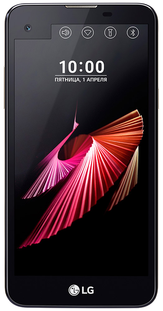 LG X View K500DS, BlackLGK500DS.ACISBKСмартфон LG X View K500DS предлагает расширенные возможности мультизадачности и новые способы подчеркнуть вашу индивидуальность. Оформите второй дисплей под ваше настроение и задачи: добавьте свою подпись, установите меню базовых настроек или избранные приложения, просматривайте важные уведомления, не включая основной дисплей.Больше, тоньше, легче. HD-дисплей с технологией In-Сell Touch предоставляет широкие возможности при работе с приложениями, просмотре сайтов и видео. Второй дисплей позволяет получить быстрый доступ к часто используемым приложениям, избранным контактам и основным настройкам.Качественные фотографии и безупречные селфи. 13-мегапиксельная основная камера позволяет делать фотографии с поразительной детализацией и в высоком разрешении. Благодаря режиму Автосъемка, фронтальная камера автоматически распознает ваше лицо и через несколько секунд сделает селфи.Возможности 4-ядерного процессора помогут вам решить все необходимые задачи в течение дня. Испытайте его скорость работы в многофункциональном режиме.Встроенного аккумулятора 2300 мАч хватает действительно надолго, что обеспечит вам насыщенный день без пауз и остановок.Android 6.0 (Marshmallow) - это новейшая версия популярной операционной системы Android, в которой реализованы последние технические достижения.Телефон сертифицирован EAC и имеет русифицированный интерфейс меню и Руководство пользователя.