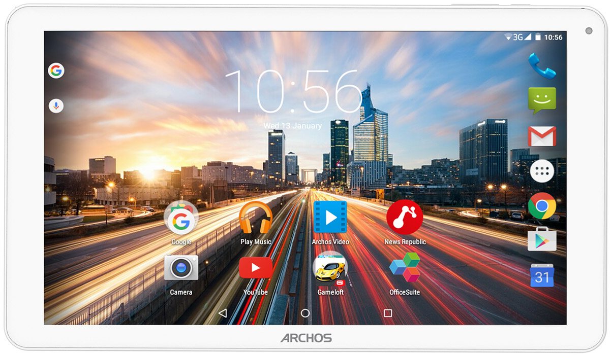 Archos 101 Helium Lite, White101 HELIUM LITEПланшетный компьютер Archos 101 Helium Lite полностью совместим с технологией 4G/LTE (150 Мбит/с). С такой высокой скоростью соединения вы сможете открыть для себя новые возможности использования смартфона: сверхбыстрый просмотр Интернет-ресурсов, потоковое видео Full HD, онлайн-игры, мгновенный доступ к облачным хранилищам и многое другое.Планшет оснащен мощным четырехъядерным процессором, который обеспечивает скорость и качество работы ваших приложений, игр и поиска в сети.IPS-технология сенсорного экрана позволяет обеспечить широкие углы обзора, то есть вы получите четкое изображение в естественных цветах из любого положения.Archos 101 Helium Lite отлично подходит не только для видеовызовов, но и для запечатления незабываемых моментов благодаря наличию передней и задней камер. Операционная система Android Lollipop 5.1 обеспечивает эффективное управление зарядом аккумулятора и оснащена рядом серьёзных улучшений. Планшет сертифицирован EAC и имеет русифицированный интерфейс, меню и Руководство пользователя.