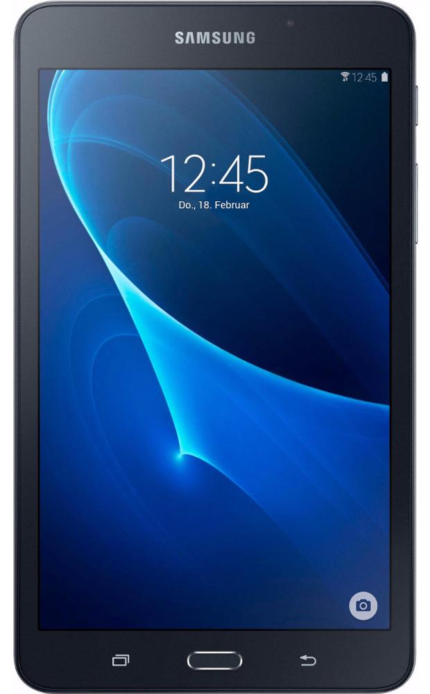 Samsung Galaxy Tab A 7.0 SM-T285, BlackSM-T285NZKASERПланшетный компьютер Samsung Galaxy Tab A 7.0 привлекает своей компактностью в сочетании с производительностью. В тонком корпусе классического дизайна размещена достойная начинка: четырехъядерный процессор с оперативной памятью 1,5 ГГц. За качественное изображение отвечает яркий 7-дюймовый экран с сочными красками и разрешением 1200x800 пикселей. Удобный размер планшета позволяет использовать его и для чтения книг, и для просмотра веб-страниц, и для развлечений. Точная автофокусировка помогает основной 5-мегапиксельной камере справиться со съемкой движущихся предметов и получить четкий снимок. Фронтальная 2-мегапиксельная камера позволит сделать селфи. Данная модель одинаково подходит как для взрослых, так и для детей. Встроенный таймер ограничивает время, проведенное ребенком за планшетом, а разнообразный увлекательный и образовательный контент поможет малышу провести время с пользой. Встроенный аккумулятор 4000 мАч, подзаряжаемый через microUSB, по заявлению производителя способен обеспечить стабильную работу в течение дня. Это примерно 10 часов. Планшет синхронизируется с телевизорами Samsung без помощи проводов - просматривать фото и видео можно, подключившись по Bluetooth или авторизовавшись в аккаунте Samsung. Планшет сертифицирован EAC, имеет русифицированный интерфейс, меню и «Руководство пользователя».