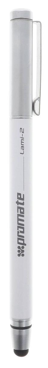 Promate Lami 2, White ручка-стилус для мобильного телефона - Стилусы