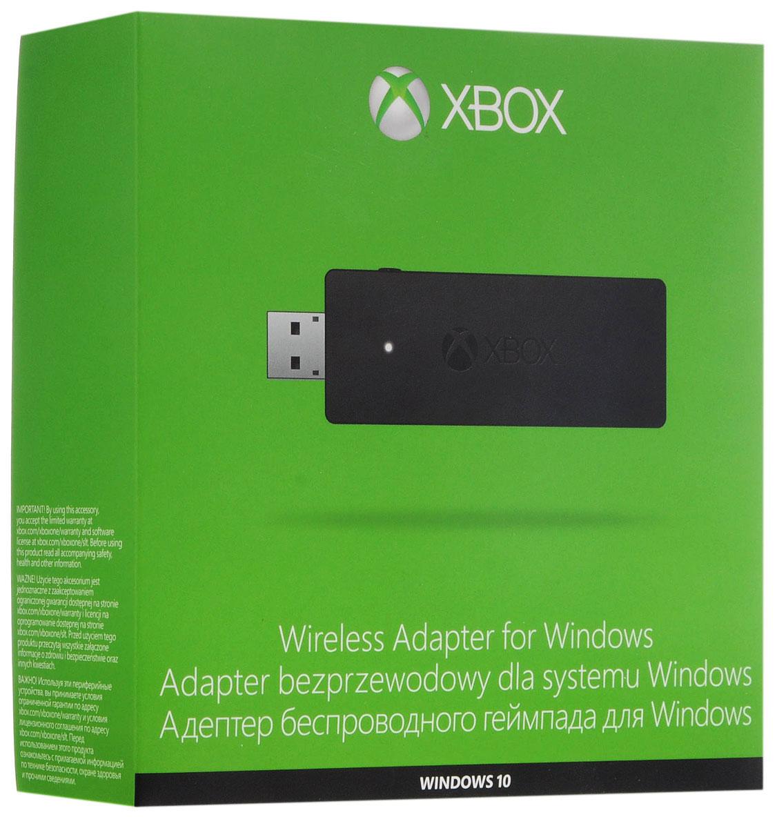 Xbox One ПК адаптер для беспроводного геймпада (HK9-00004)HK9-00004C помощью беспроводного адаптера Xbox для Windows можно не только подключить беспроводной геймпад Xbox One к своему устройству под управлением Windows 10, но и подключить до восьми беспроводных геймпадов и до четырех гарнитур для чата или две стереогарнитуры — и все это без каких-либо кабелей между геймпадом и вашим устройством с Windows 10, 8.1 или 7.Беспроводной адаптер для Windows работает со всеми аксессуарами Xbox корпорации Microsoft. Вы можете подключить до восьми геймпадов и гарнитур (до четырех гарнитур для чата Xbox One или двух стереогарнитур Xbox One). Вы также можете использовать другие аксессуары, например клавиатуру Xbox One и зарядное устройство Xbox One.