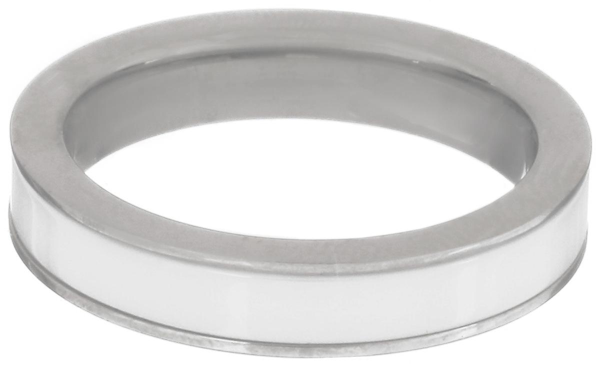 Кольцо Art-Silver, цвет: белый, серебристый. CR056-675. Размер 17,5Коктейльное кольцоСтильное кольцо Art-Silver изготовленное из керамики и стали, выполнено в лаконичном стиле.Такое кольцо придаст вашему образу изюминку и подчеркнет индивидуальность.