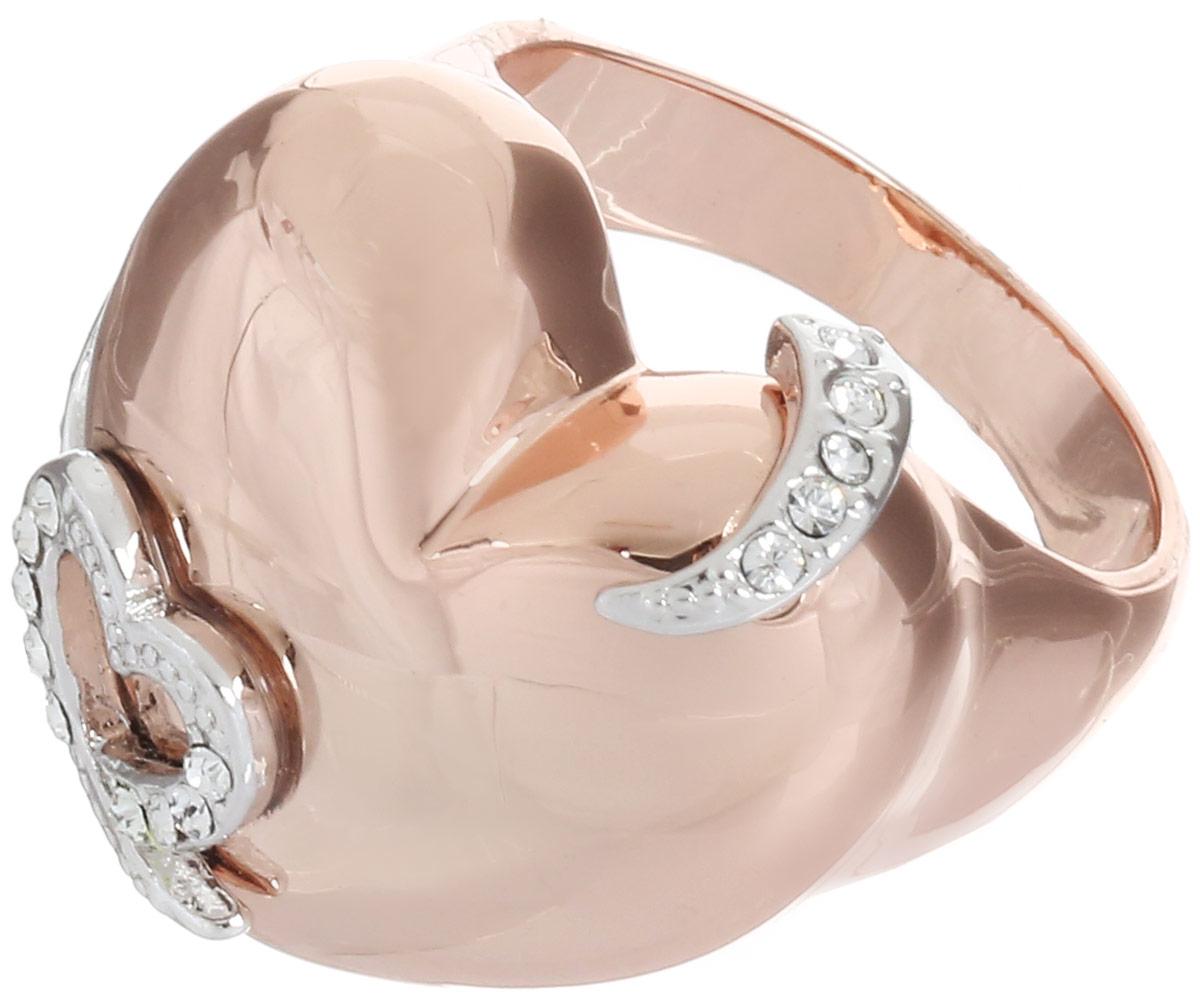 Кольцо Art-Silver, цвет: золотистый. MS06095R-T-A-522. Размер 17Коктейльное кольцоВеликолепное кольцо Art-Silver изготовлено из бижутерного сплава с золотистым покрытием. Декоративная часть кольца выполнена в виде сердца. Изделие украшено цирконами.Стильное кольцо придаст вашему образу изюминку и подчеркнет индивидуальность.